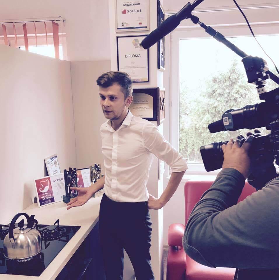 Jakub Biel kamery TV