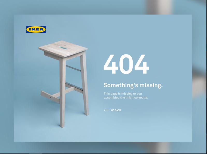 Ikea błąd 404