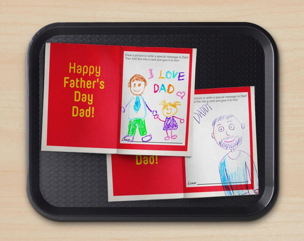McDonald's Dzień Ojca reklamy, marketing
