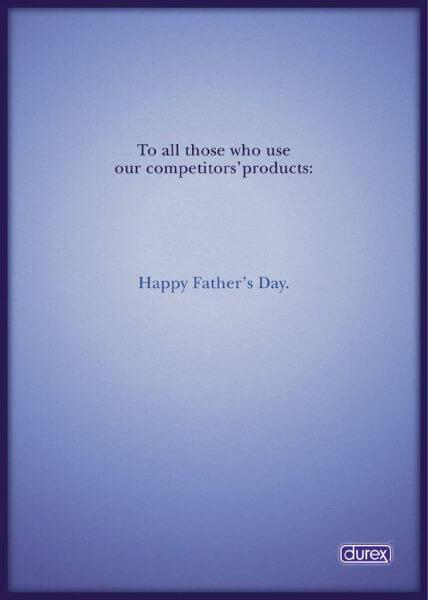 Durex Dzień Ojca reklamy, marketing