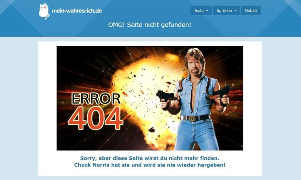 mein-wahres-ich.de błąd 404