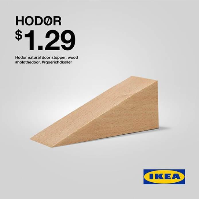 Ikea i gra o tron. Real Time Marketing