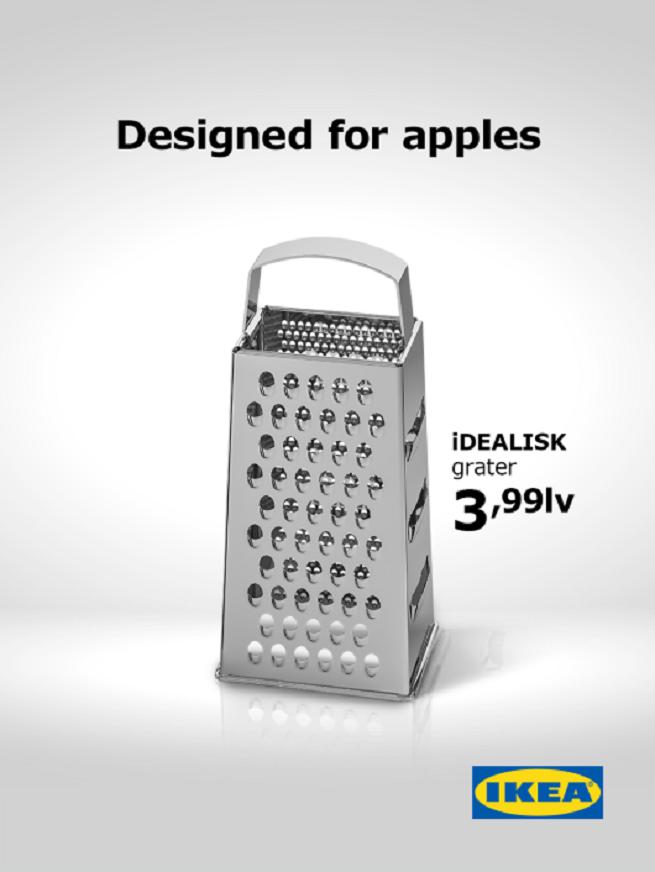 IKEA - nowy komputer Apple. Marketing w czasie rzeczywistym.