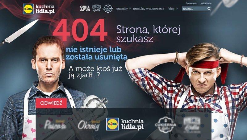 Lidl błąd 404