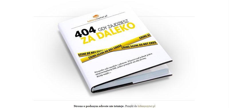 Lubimyczytać.pl błąd 404