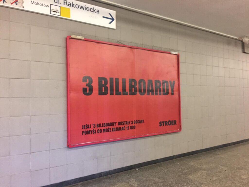 Ströer - 3 billboardy. Real Time Marketing